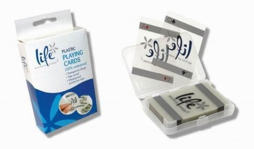 Life Plastic Playing Cards - 100% Waterproof